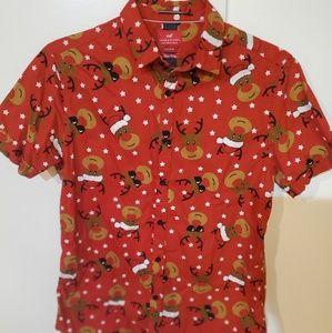 Denim & Flower Shirts - men's ugly Christmas shirt